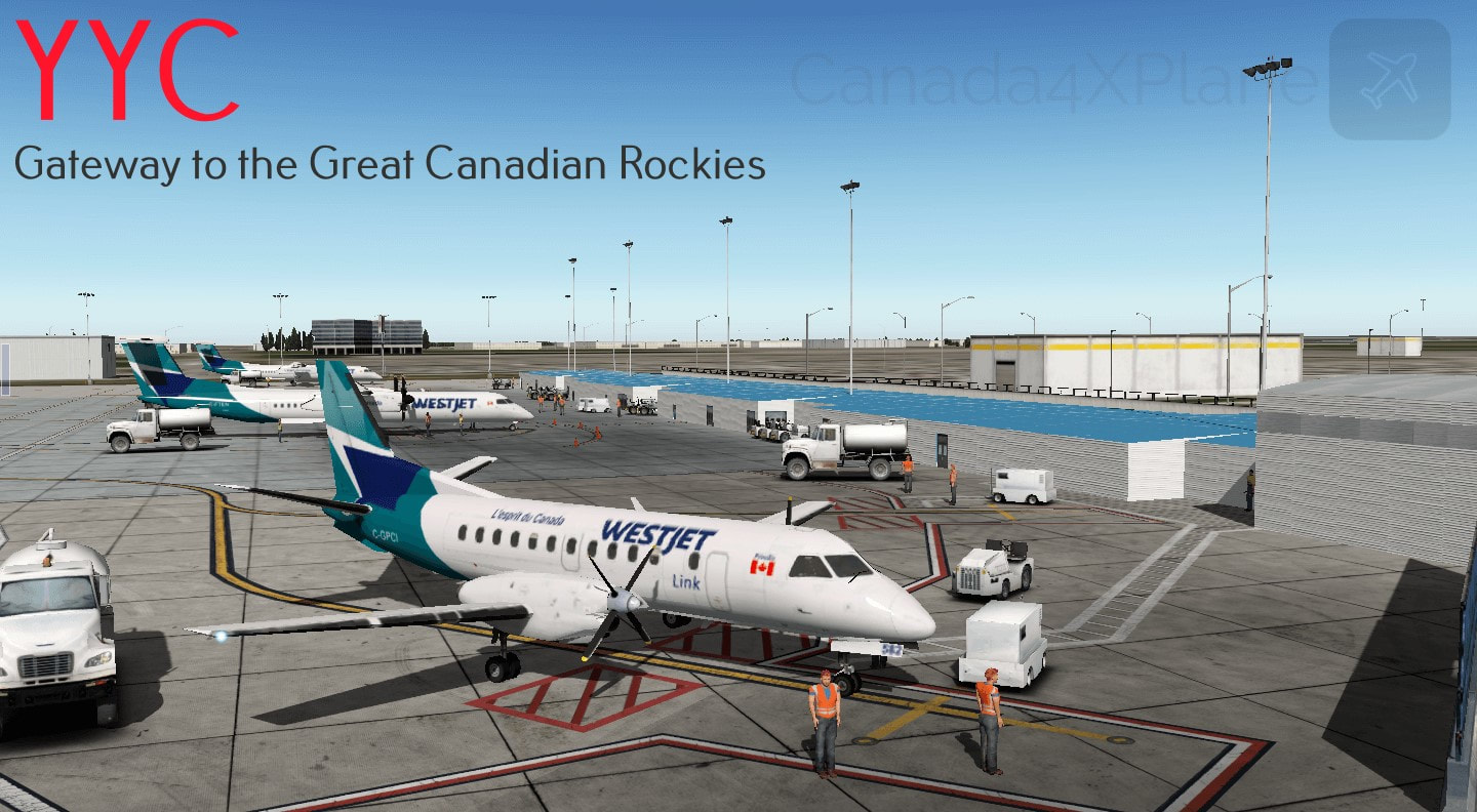 Scenery Libraries - CANADA4XPLANE